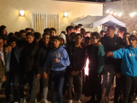 Teens BBQ and Roast of Rabbi Sakhai