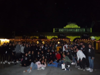 Teens Knotts Scary Farm 2018