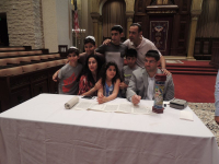 Torah & Megillah Signing May, 6 2018