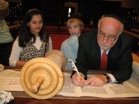 Torah Signing - May 16, 2010