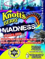 Knott's Berry Madness 2016