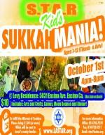 Star Kids Sukkah Party 2015 flyer FOR WEB